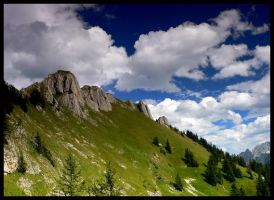 The Alps landscapes III by mutrus