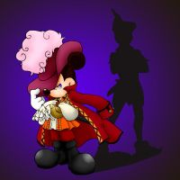 Captain Hook?!Mickey!? by hat-M84