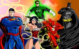 Justice League of America - MLG13 by Moislopez