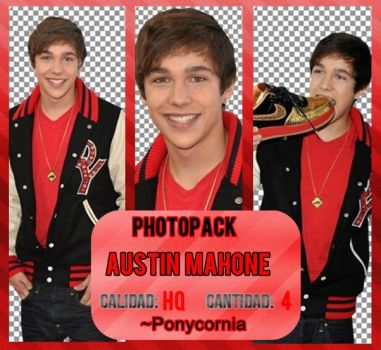 +Pack PNG Austin Mahone. by JimeRusher