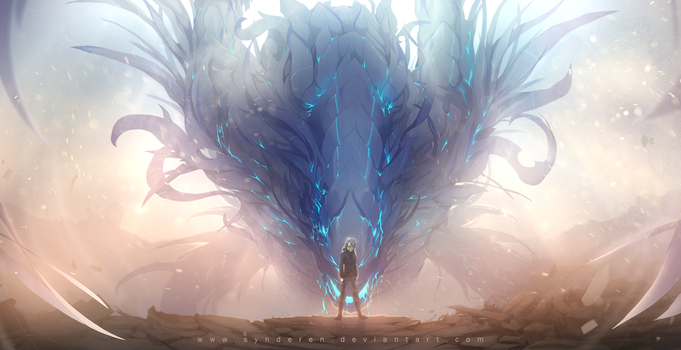 Windlord (Edit: speedpaint!) by synderen
