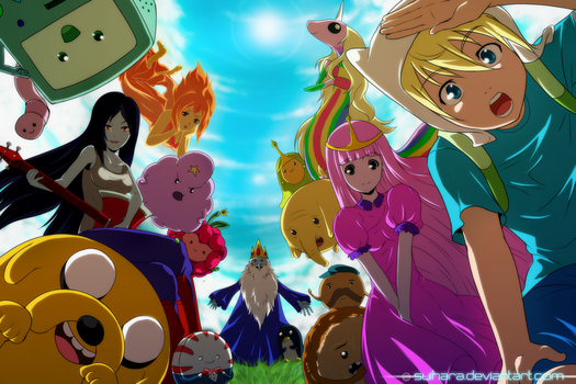 Adventure Time! by Suihara