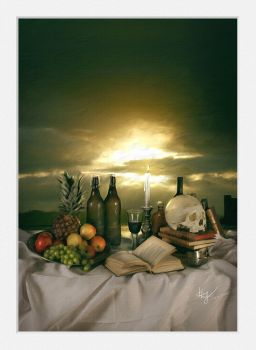 Classic Still Life by linecut