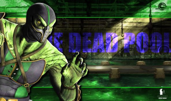 Reptile Wallpaper by fightersnetwork