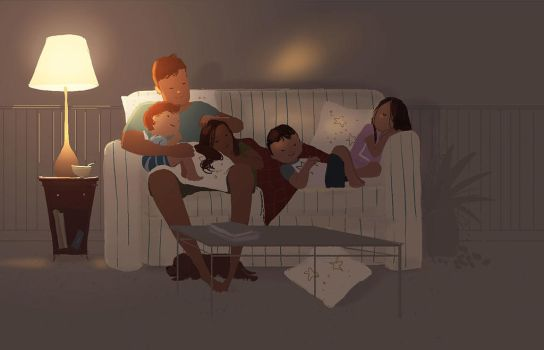 Sweet dreams sleepy heads by PascalCampion