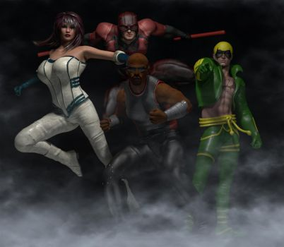 The Defenders by hiram67