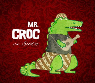 Mr. Croc on guitar by v3lv3l