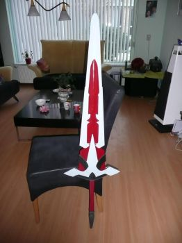 Cosplay Progress - Lord Knight Weapon (Currently) by Fixii