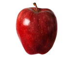 PNG RED APPLE by Moonglowlilly