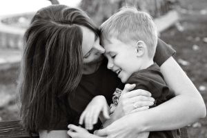 Mother and Son by thankx4stayin
