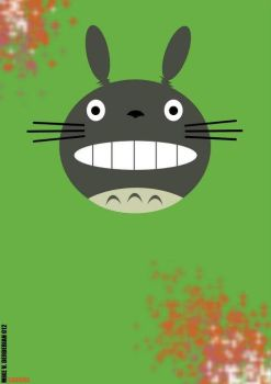 Totoro by mikevderderian