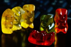 CSI: Gummi Bears by mcastiello