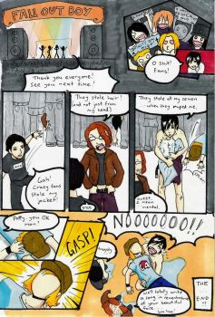 the adventures of fall out boy by Go-Devil-Dante
