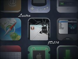 Lustro for iPhone 4 by JDL16