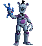 Rapetime Funtime Freddy FULL RENDER by CoolioArt