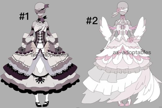 Blind princess outfit adoptables CLOSED by AS-Adoptables