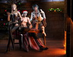 #Merry-Christmas  -  Devils Never Cry by DemonLeon3D