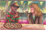 Bon Appetit Freddy and Alice by dinoloverXX