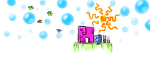 Elefant and friends by horlet