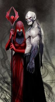free high rez hordak and shadow weaver by nebezial