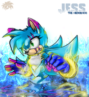 CryoQueen - Jess the Hedgehog by SpyxedDemon
