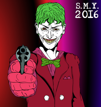 The Joker by TheAmazingMrSMY