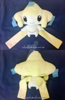 jirachi plush by whitephant0m