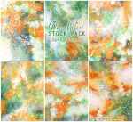 Spring blooms  - WATERCOLOR STOCK PACK by AuroraWienhold