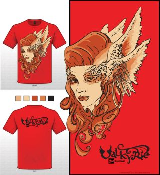 Valkyrie T-Shirt by Ajala