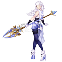 Dragon Nest - Lancer (for NaruKoto) by Kristy-Art