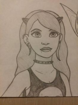 Disney looking girl by shorty4815