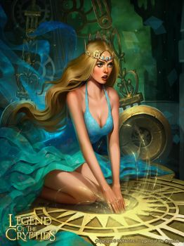 Clock tower goddess Tara_adv by Tsvetka