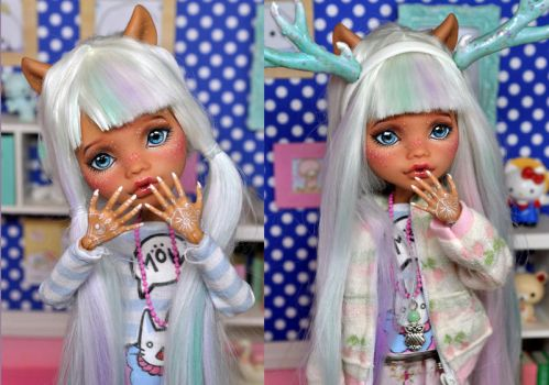 Custom monster high Clawdeen by L63player