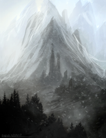 Snowy Mountains (Speedie) by ehecod
