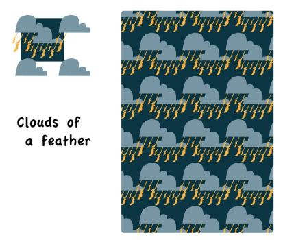 clouds- the stamp by Terrafeet