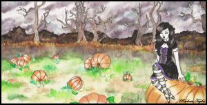 pumpkin patch. by CootieInfestation