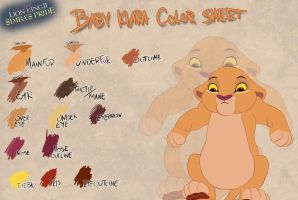 Baby Kiara color sheet by Takadk
