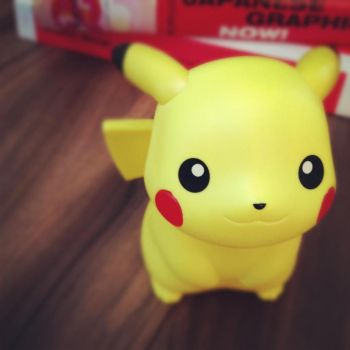 Pickachu figure by ADVENTURENATHALIE