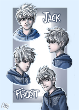 Rise Of The Guardians - Jack Frost by Renny08