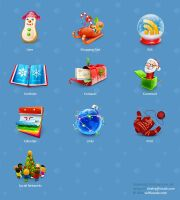 Smashing Christmas Icon Sets by lambda