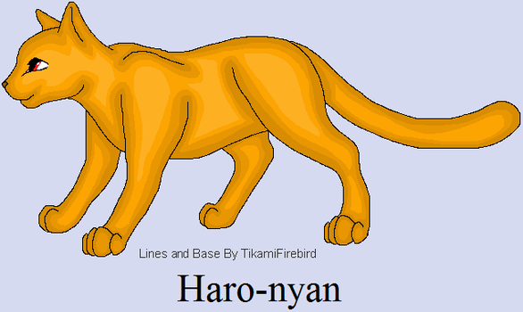 Haro-nyan concept (legit) by CharGrilledAznable