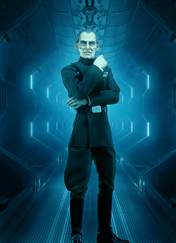 Grand Moff Tarkin by Aste17