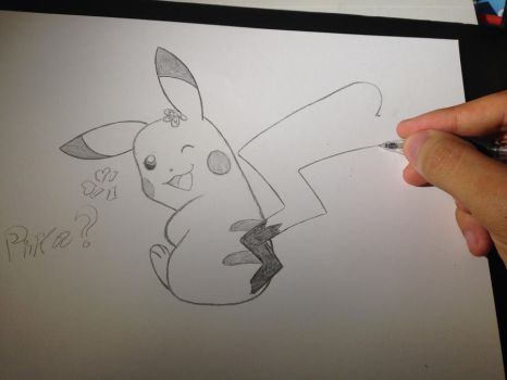 Pikachu by Admiral-Kevin