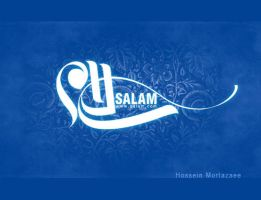 SALAm-((HELLO)) by mortazaee