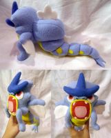 Gyarados Pokedoll Style Plush by UraHameshi