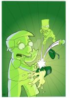 Bart and Milhouse by RadPencils