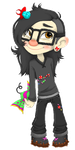 Sugar Rush Skrillex by Basscarrier