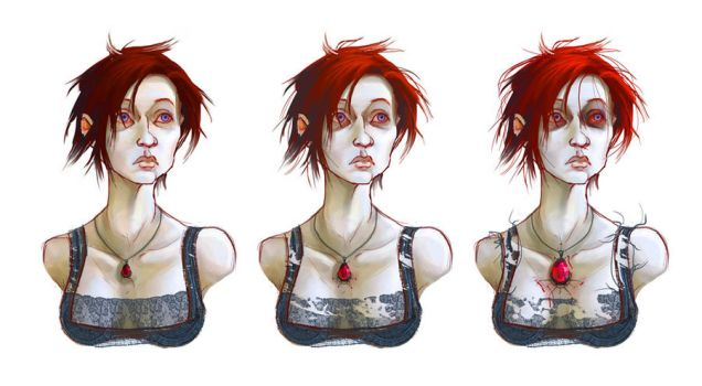 Rose Red Progression by EranFowler