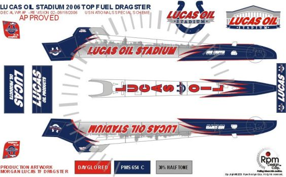 Lucas Oil Dragster by RpmIndy