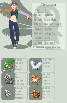 Trainer ID 0.1 by Disami